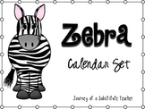 Zebra Math Wall Pack
