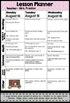 Zebra Mini Teacher Planner Set