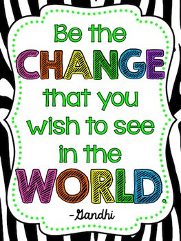 Zebra Motivational Posters
