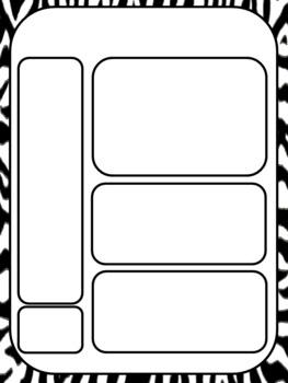 Zebra Newsletter Template EDITABLE