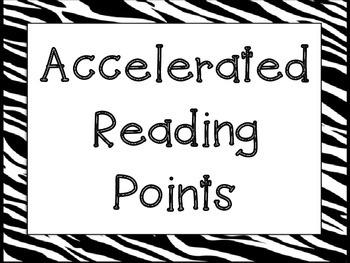 Zebra Numbers Counting By 5 - AR Points