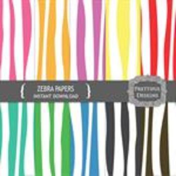 Zebra Paper Pack