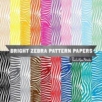 Digital Paper - Zebra