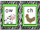 Zebra Phonics Cards