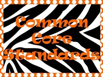 Zebra & Polka Dot Theme Classroom Signs