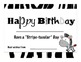Zebra Print Birthday cupcakes, labels, certificates and bo