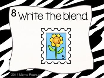 Blends Task Cards