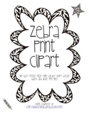 Zebra Print Clipart