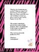 * Animal Print Zebra Print Clock Labels