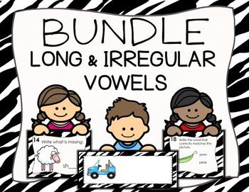 Long and Irregular Vowel Sounds BUNDLE