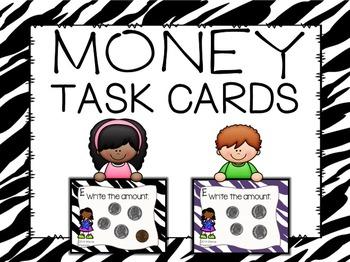 Money Task Cards