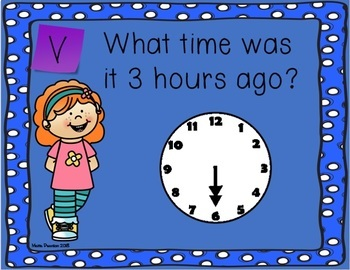 Time Task Cards (Hour/Half Hour & Elapsed Time)