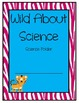 """Zebra Print """"Wild About Learning"""" Folder, Journal and Binder Covers"""