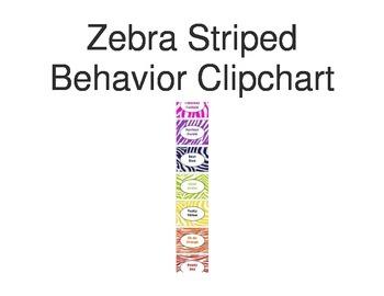 Zebra Striped Behavior Clipchart