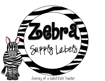Zebra Supply Labels