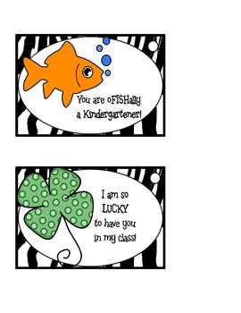 Zebra Theme Kinder Student Treat Bag Labels (color)