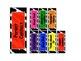 Zebra Themed Rainbow Clip Chart