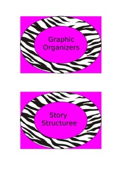 Zebra and pink comprehension strategies