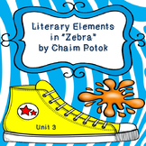 Zebra by Chaim Potok Literary Elements Graphic Organizer, Unit 3