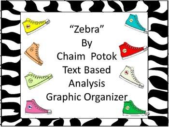 Zebra by Chaim Potok Text Analysis Graphic Organizer