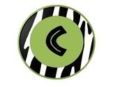 Zebra themed CAFE Headers