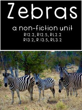Text Features & Folktale -Zebras