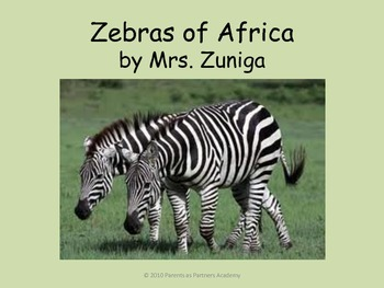 Zebras of Africa