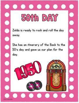 Back to School-Kindergarten -1st Grade-Math-100 Days of School!