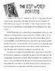Zelfie Descriptive Writing Task: Create a Zombie Selfie