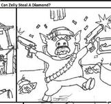 Zelly Steals a Diamond ESL class heist printout
