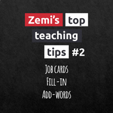 Zemi's top teaching tips #2 (4-6)
