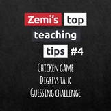 Zemi's top teaching tips #4 (10-12)