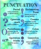 Zen Classroom English Punctuation Poster