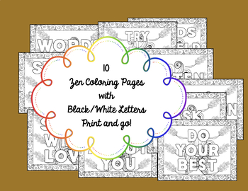 Four Agreements Coloring Pages
