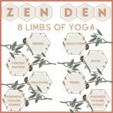 Zen Den 8 Limbed Path of Yoga Bulletin Board Set