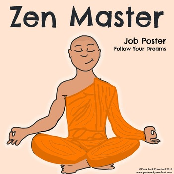 Zen Master Poster - Discover Your Passions
