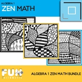 Zen Math Algebra I Bundle