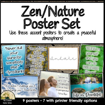 Zen & Nature Decor Posters