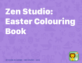 Zen Studio: Easter Colouring Book