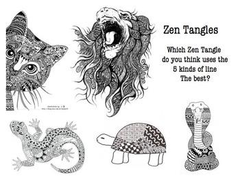 Zen Tangle Lesson Power Point