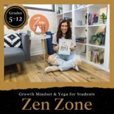 Zen Zone Booklet: Meditation, Yoga, & Breathing Techniques for Students