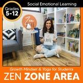 Zen Zone Booklet: Meditation, Yoga, & Breathing Techniques