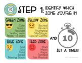 Zen Zone Materials (calm corner, coping skills, self regulation)