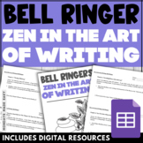Zen in the Art of Writing Bell Ringers   12-Day Chapter-By-Chapter Assessment