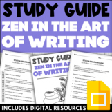 Zen in the Art of Writing Study and Discussion Guide | Chapter-By-Chapter Q & A
