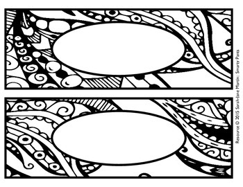 Zendoodle Name Tags