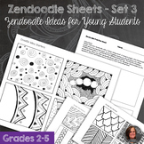 Zendoodle Sheets - Set 2 - Zendoodle designs for Elementar