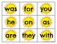Zeno High Frequenty Word Cards Summer