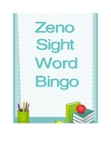 Zeno Sight Word Bingo