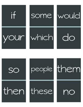 Zeno Sight Word Dominos